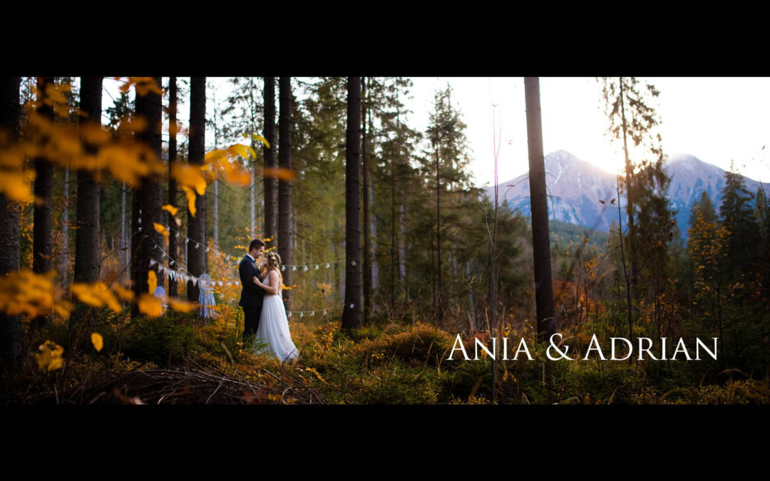 Ania & Adrian | Teledysk ślubny, plener Tatry Słowackie